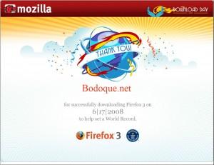 Certificado Firefox para Bodoque.net