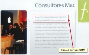 ¿Quieres ser un CSM? Trabaja en Falabella como Consultor Soluciones Mac :-P